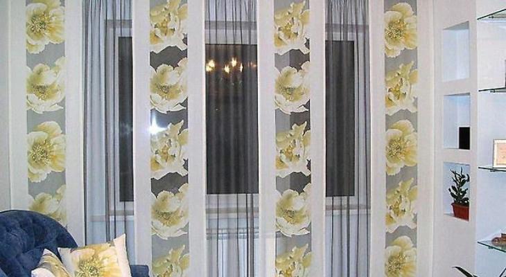 Как сделать японские шторы своими руками мастер класс 63
